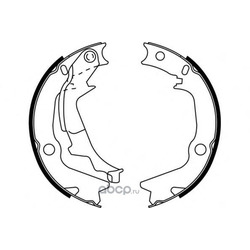 Комплект тормозных колодок (E.T.F.) 090696