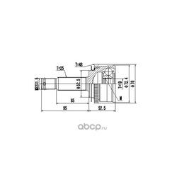 Комплект ШРУСа (DYNAMATRIX-KOREA) DCV824041