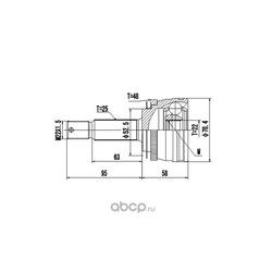 Комплект ШРУСа (DYNAMATRIX-KOREA) DCV824046