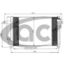 Конденсатор, кондиционер (ACR) 300521