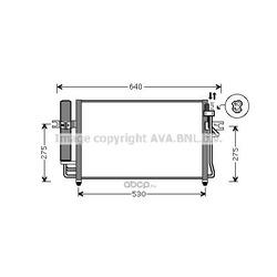 Конденсатор, кондиционер (Ava) HY5087D