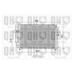Конденсатор, кондиционер (QUINTON HAZELL) QCN280