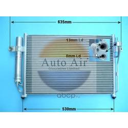 Конденсатор, кондиционер (Auto air gloucester) 161004