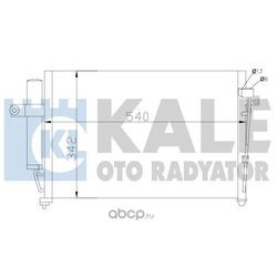 Конденсатор, кондиционер (KALE OTO RADYATOR) 391700