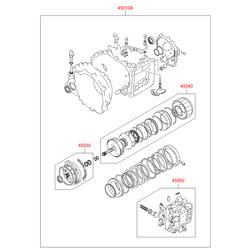 Набор прокладок КПП (Hyundai-Kia) 4501022C00