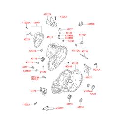 Трубка направляющая масляного щупа (Hyundai-Kia) 4311622000