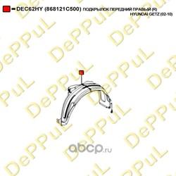 Подкрылок передний правый (DePPuL) DEC62HY