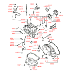 Прокладка поддона АКПП (Hyundai-KIA) 4528536000