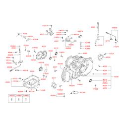 Прокладка резиновая (Hyundai-Kia) 4528522010