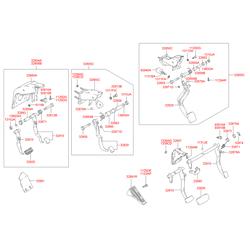 Контактный выключатель стоп-сигнала (Hyundai-Kia) 9381026000