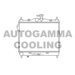 Радиатор (AUTOGAMMA) 103669