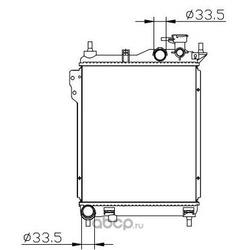 Радиатор охлаждения (BodyParts) HNGEZ02914