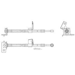 Тормозной шланг (CEF) 512632