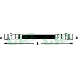Тормозной шланг (Lpr/AP) 6T48043