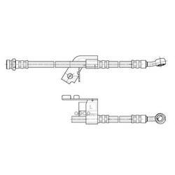 Тормозной шланг (CEF) 512629