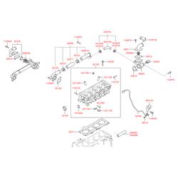 Прокладка ГБЦ металлическая многослойная (Hyundai-Kia) 2231102760