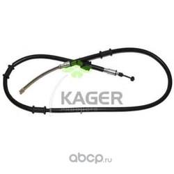 Трос, стояночная тормозная система (KAGER) 196142