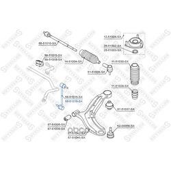 Тяга/стойка, стабилизатор (Stellox) 5651016SX