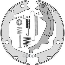Комплект тормозных колодок, стояночная тормозная система (MGA) M888R