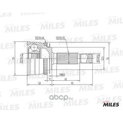 Шрус наружный (Miles) GA20165