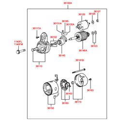 Деталь (Hyundai-KIA) 3612002550