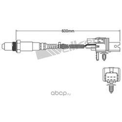 Лямбда-зонд (WALKER PRODUCTS) 25025005