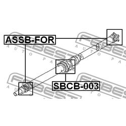 Крестовина карданного вала 22x35 (Febest) ASSBFOR