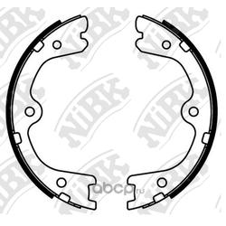 Колодки стояночного тормоза (NiBK) FN22002