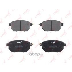 Колодки тормозные передние (LYNXauto) BD5737