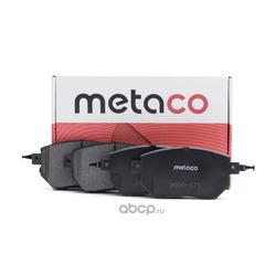 Колодки тормозные передние (METACO) 3000171