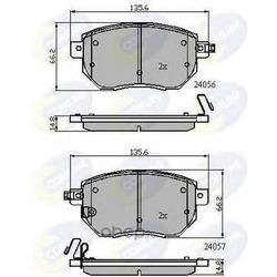 Комплект тормозных колодок, дисковый тормоз (Comline) CBP31745