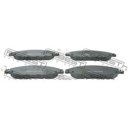 Колодки тормозные передние (Febest) 0201R52F