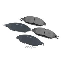 Колодки тормозные дисковые передние (Friction Master) MKD1649