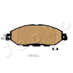 Комплект тормозных колодок, дисковый тормоз (JAPKO) 501005