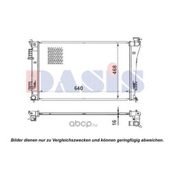 Радиатор (AKS DASIS) 560074N