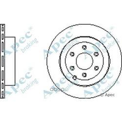 Тормозной диск (APEC braking) DSK2708
