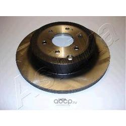 Диск тормозной задний вентилируемый (Ashika) 6101100