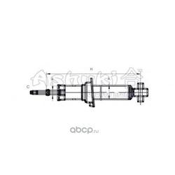 Амортизатор (ASHUKI) N33018I