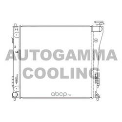 Радиатор (AUTOGAMMA) 105837