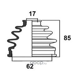 Пыльник привода (AVANTECH) BD0221