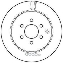 Тормозной диск (BENDIX) 562782BC