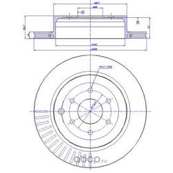 Тормозные диски (CAR) 1421546