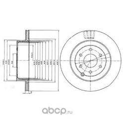Тормозные диски (Delphi) BG4174