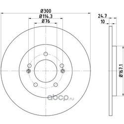Тормозной диск (DON) PCD15232
