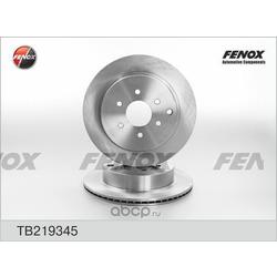 Диск тормозной (FENOX) TB219345