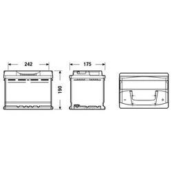Стартерная аккумуляторная батарея (FULMEN) FB620