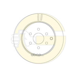 Тормозной диск (Girling) 6062892