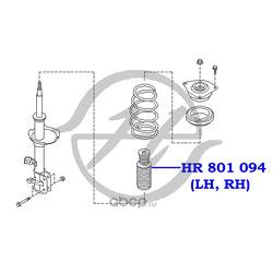 Чехол амортизатора (Hanse) HR801094
