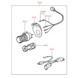 Деталь (Hyundai-KIA) 9511031050