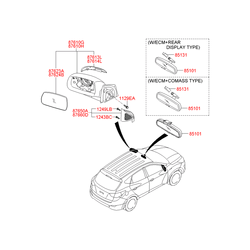 Указатель поворота (Hyundai-KIA) 876142S200